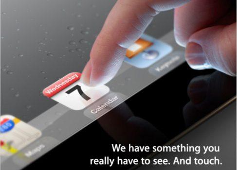iPad3 будет представлен 7-го марта официально