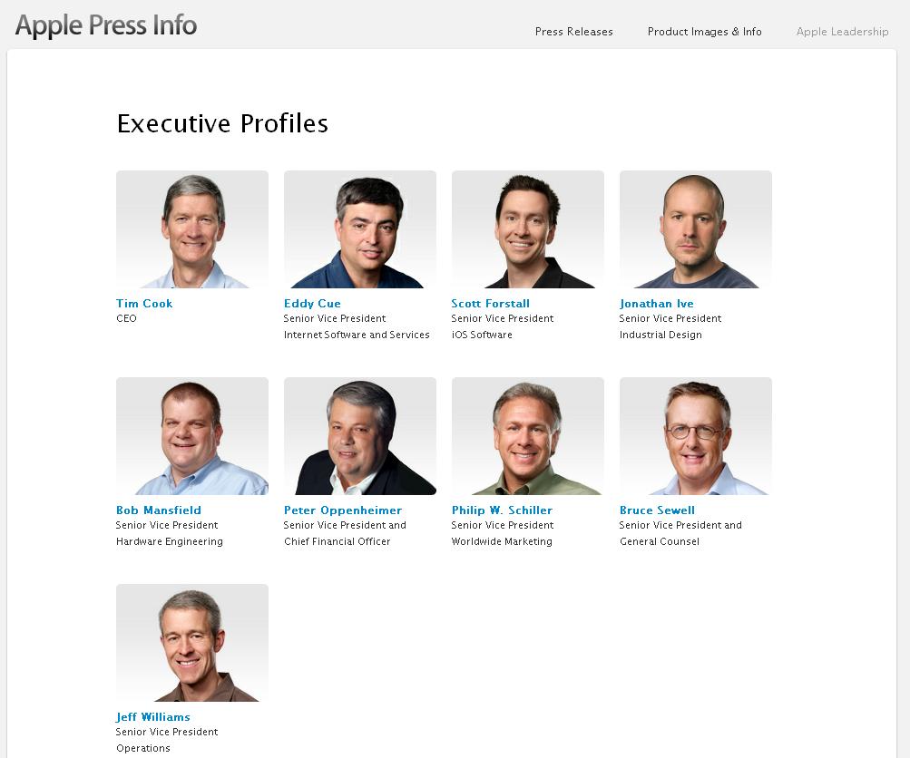 Совет директоров Apple