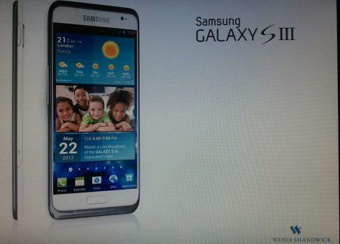 В сеть утекли возможные фотографии Samsung Galaxy S III