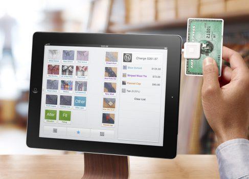 iPad и Square замена кассовых терминалов