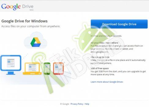 Google Drive: 5GB free с 16 апреля