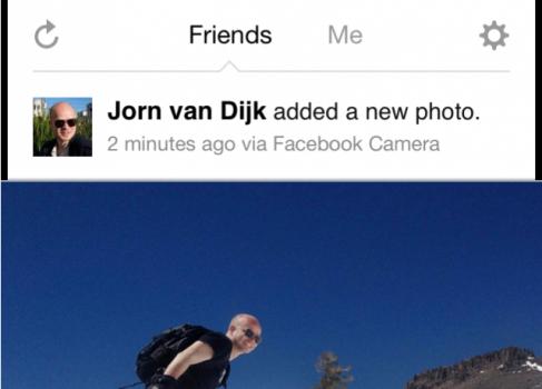 Facebook выпустил фото-приложение для iPhone