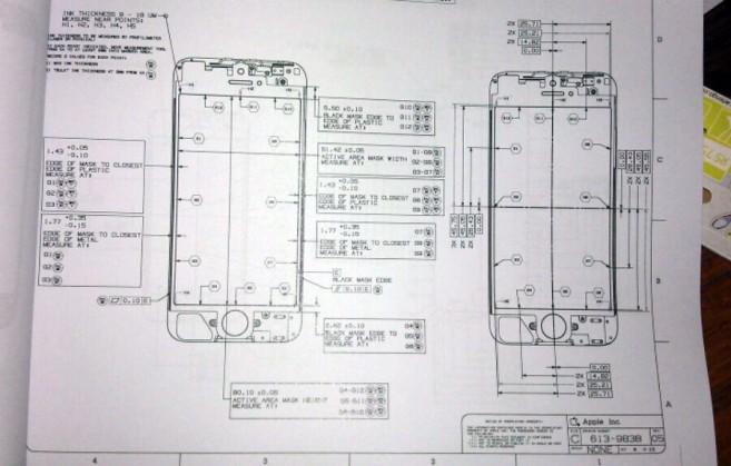 схему нового iPhone с