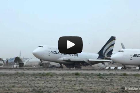 Прыгающий Boeing 747