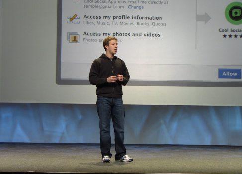 Первичное размещение Facebook назначено на 18 мая