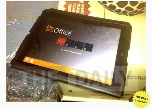 Microsoft Office будет выпущен для iOS к 10 ноября
