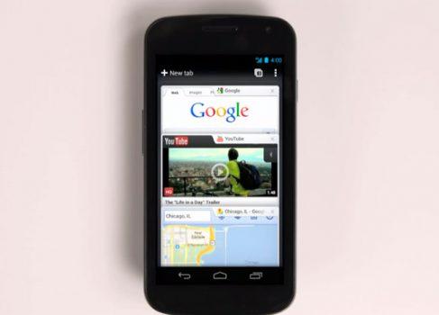 Google Chrome для Android вышел из беты и доступен в Google Play