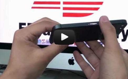 Видео новой задней крышки iPhone