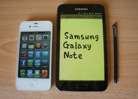 Smasung Galaxy Note II ожидают в августе с 5.5″ экраном