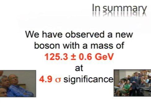 CERN подтвердил открытие бозона Хиггса