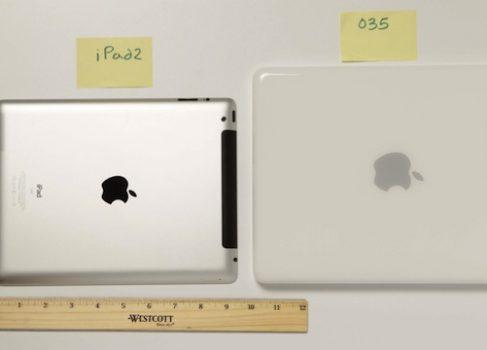 Прототип iPad: толще и больше существующей модели