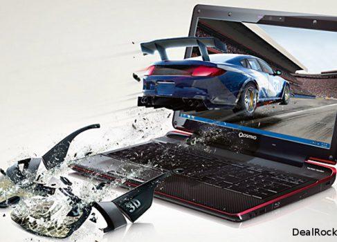 Toshiba показала первый в мире ноутбук с glasses-free 3D дисплеем