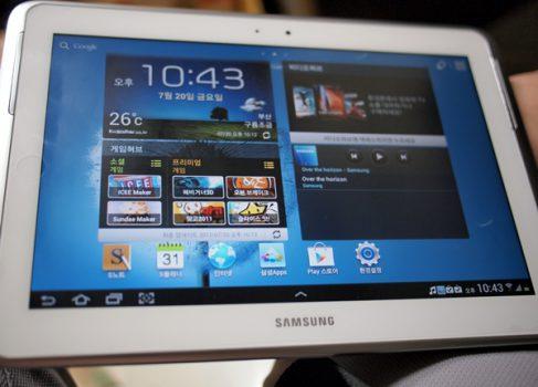 Новые подробности о Samsung Galaxy Note 10.1