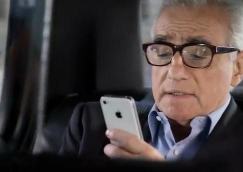 Мартин Скорсезе в рекламе Siri от Apple