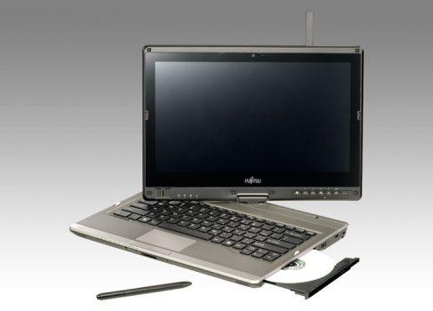 Fujitsu представила W8-ready планшет и ноутбук-трансформер