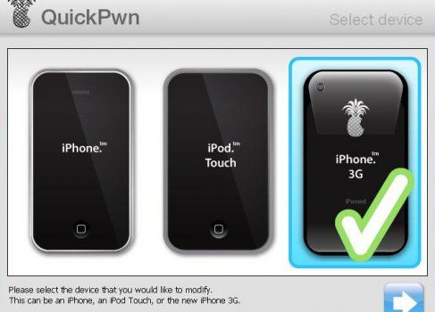 18 августа 2008 года был выпущен QuickPwn — jailbreak для iPhone и iPod