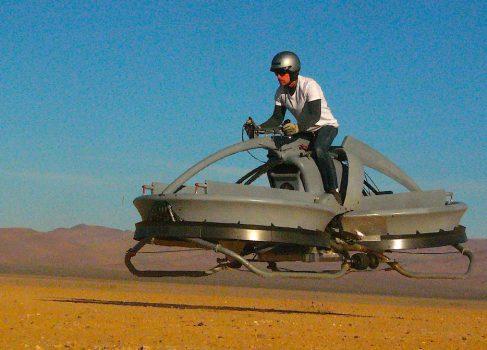 Летающий ховербайк прошел испытания