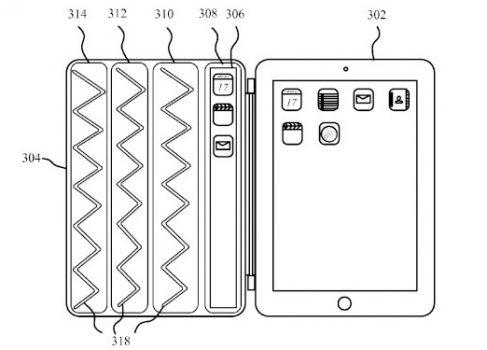 Apple патентует интерактивный smart cover для iPad