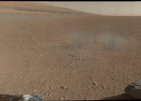 Первая 360′ панорама Марса от Curiosity