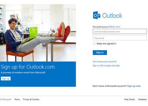 Как получить адрес в новом Outlook.com?