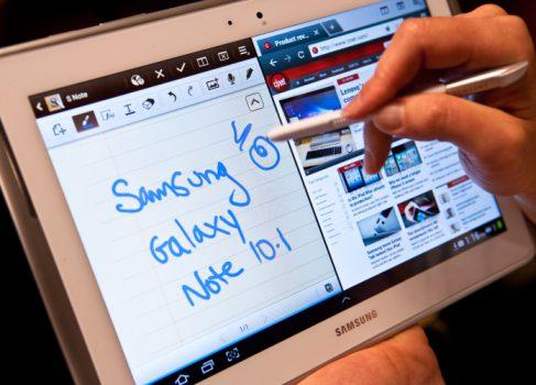 Samsung Galaxy Note 10.1 поступил в продажу