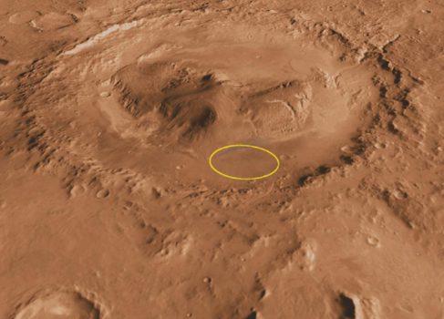 Еще одна великолепная марсианская панорама от Curiosity
