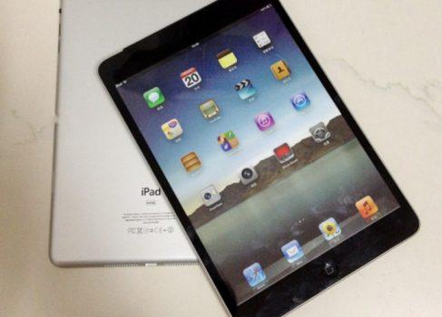 В сеть утекли физические макеты iPad mini