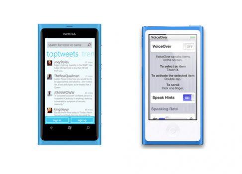 Новый iPod nano копирует дизайн Nokia Lumia?