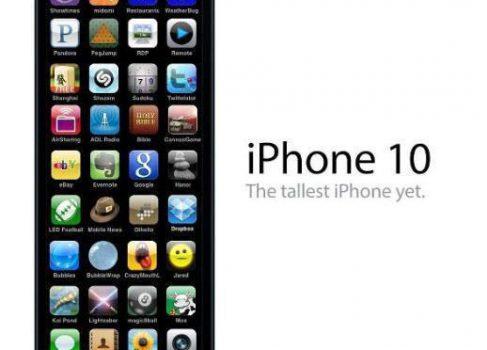 Концепт iPhone 10 утек в сеть [юмор]