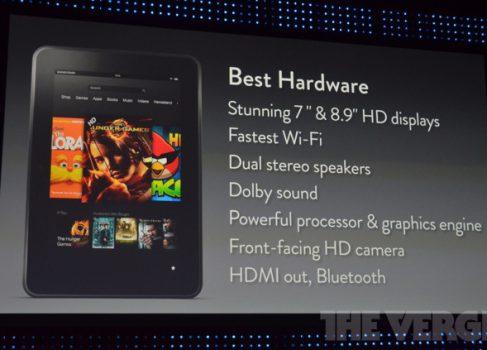 Краткий обзор нового Amazon Kindle Fire HD