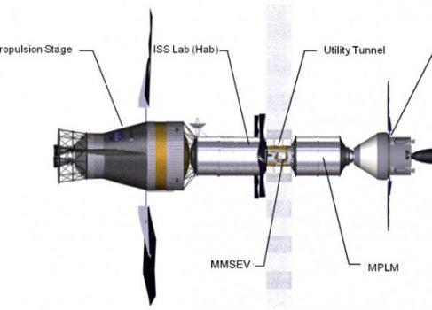 NASA собирается строить обитаемую станцию за Луной