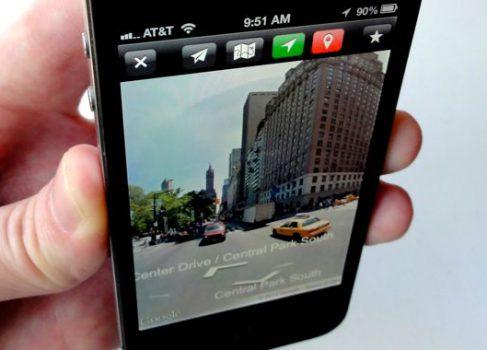 Google Street View все-таки будет доступен под iOS 6