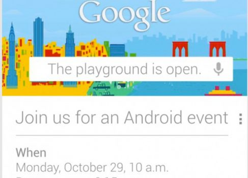 Google назначила Android Event на 29 октября
