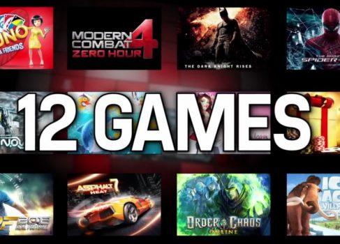 Gameloft портирует на Windows Phone 8 сразу 12 тайтлов
