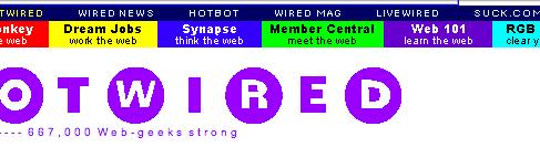 Запущено первое коммерческое онлайн-издание HotWired