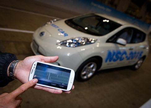 «Беспилотник» Nissan NSC-2015 управляется со смартфона