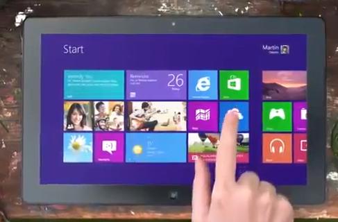 В сети появились первые рекламные ролики Windows 8