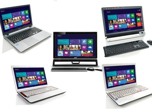 Первые ноутбуки на Windows 8 появились в продаже
