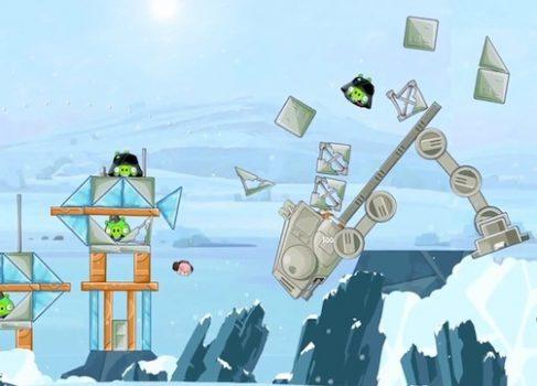 В сети появилось первое видео «Angry Birds Star Wars»