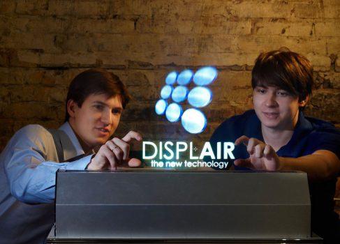 DisplAir – воздушные мультитач дисплеи из Астрахани