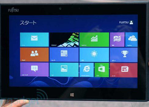 На CEATEC Fujitsu вновь показала «водоплавающий» планшет Arrows