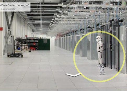 Имперские штурмовики охраняют дата центры Google [юмор]