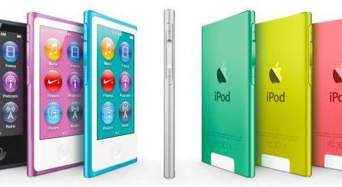 Вышло первое обновление для iPod 7-го поколения