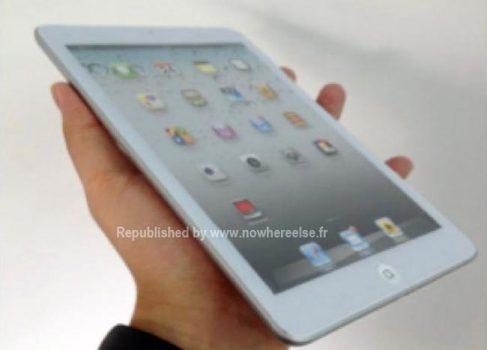 iPad Mini может быть представлен 17 октября [слух]