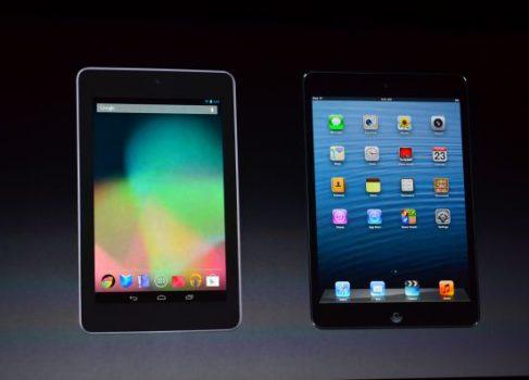 Битва малюток: iPad mini против Nexus 7