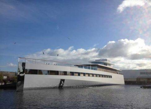Яхта Стива Джобса не дождалась своего хозяина