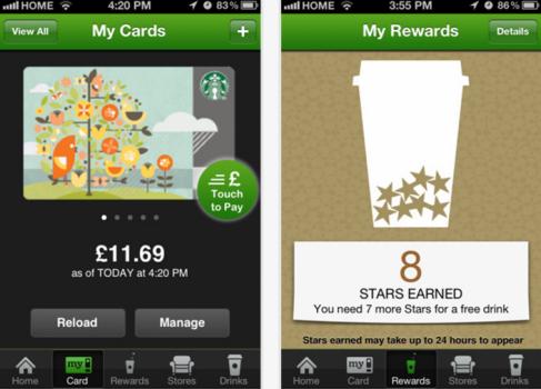 Starbucks Канады и Великобритании начали работать с PassBook