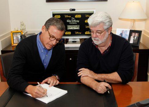 Walt Disney купила Lucas Films