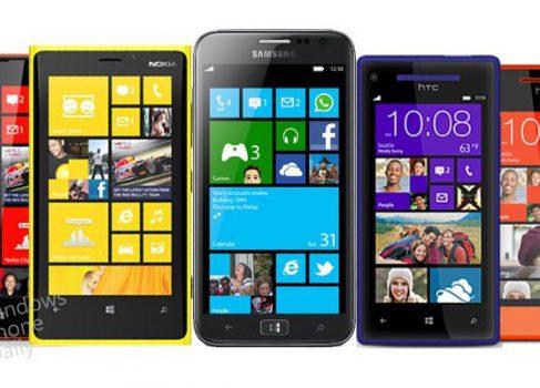 Первые смартфоны под Windows Phone 8 от Samsung, Nokia и HTC
