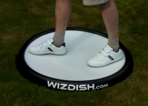 Интерфейс WizDish имитирует ходьбу в играх